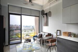 phòng khách nhỏ ở chung cư (2)