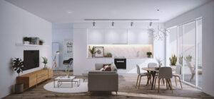 phòng khách nhỏ ở chung cư (3)