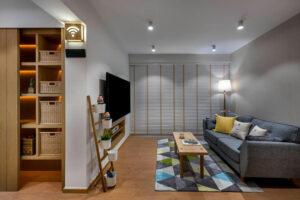 phòng khách nhỏ ở chung cư (6)