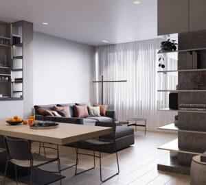 phòng khách nhỏ ở chung cư (7)