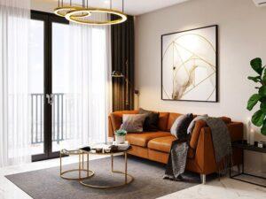 phòng khách nhỏ ở chung cư (8)