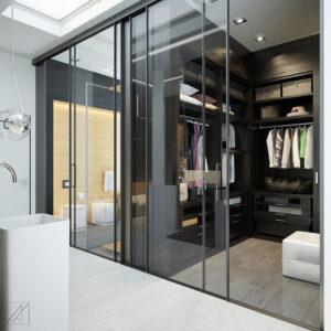 phòng thay đồ trong phòng ngủ (1)