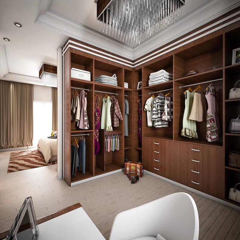 phòng thay đồ trong phòng ngủ (16)