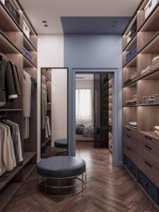 phòng thay đồ trong phòng ngủ (18)