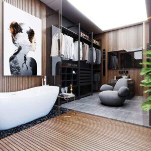 phòng thay đồ trong phòng ngủ (22)
