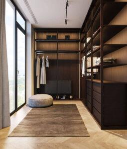 phòng thay đồ trong phòng ngủ (8)