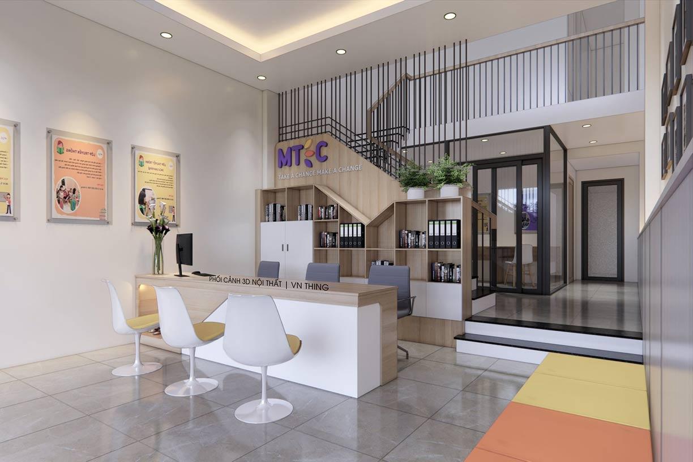 thiết kế trung tâm tiếng Anh tại Đà Nẵng
