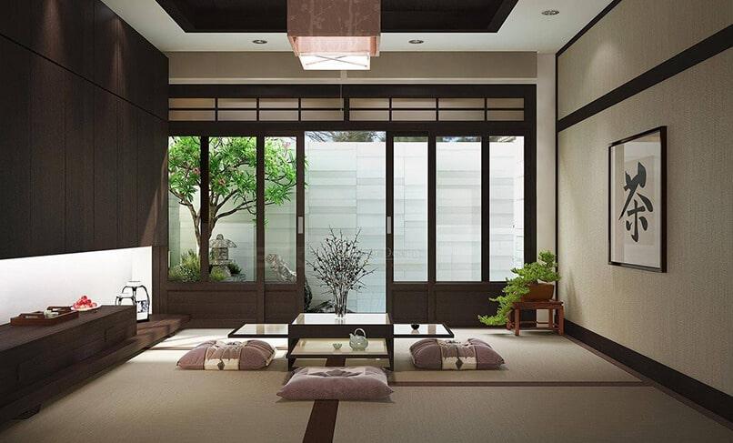 thiết kế nội thất nhật bản (7)
