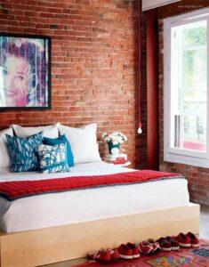thiết kế tường gạch thô đẹp (4)