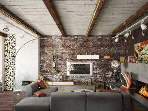 thiết kế tường gạch thô đẹp (7)
