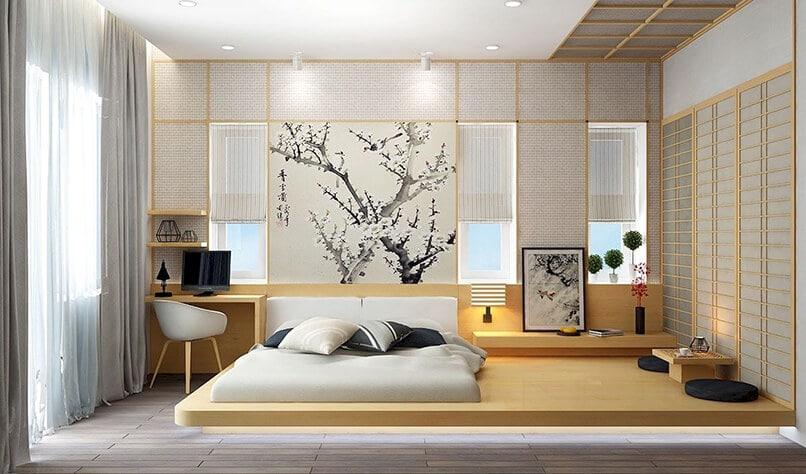 cách trang trí phòng ngủ không có giường (12)