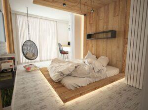 cách trang trí phòng ngủ không có giường (7)