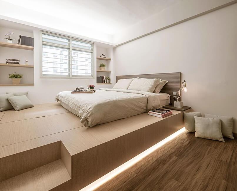 cách trang trí phòng ngủ không có giường (9)