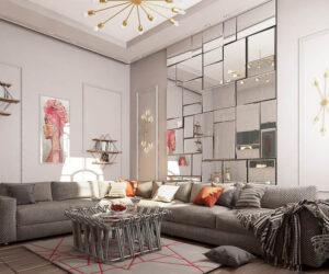 gương treo trong phòng khách đẹp nhất (2)