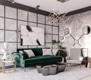 gương treo trong phòng khách đẹp nhất (3)