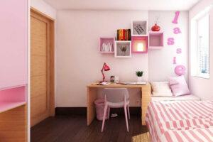phòng ngủ cho bé gái 15 tuổi (1)