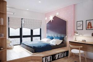 phòng ngủ cho bé gái 15 tuổi (12)
