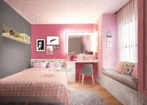 phòng ngủ cho bé gái 15 tuổi (13)