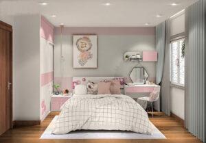 phòng ngủ cho bé gái 15 tuổi (15)