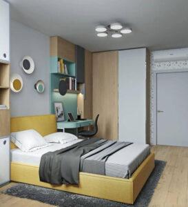 phòng ngủ cho bé gái 15 tuổi (2)