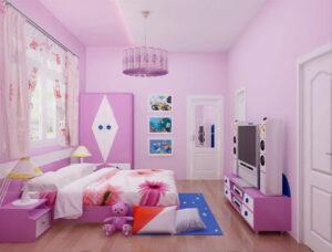 phòng ngủ cho bé gái 15 tuổi (27)