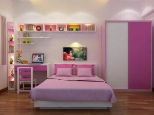 phòng ngủ cho bé gái 15 tuổi (35)