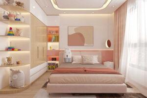 phòng ngủ cho bé gái 15 tuổi (5)