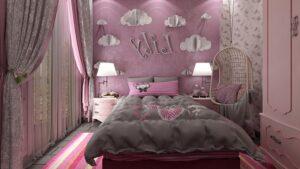 phòng ngủ màu hồng (1)