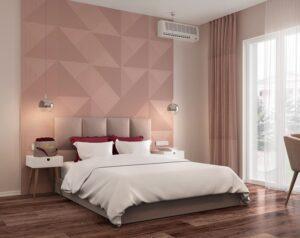phòng ngủ màu tím hồng (2)