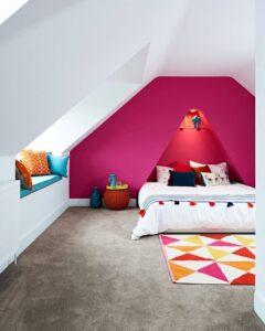 phòng ngủ màu tím hồng (6)