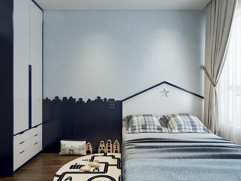 phòng ngủ màu xanh da trời (1)