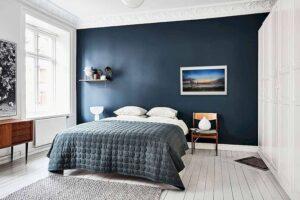 phòng ngủ màu xanh da trời (12)