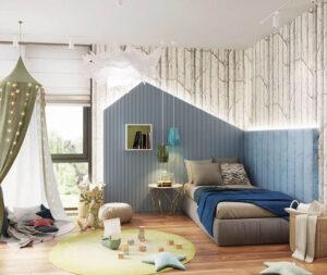 phòng ngủ màu xanh da trời (3)