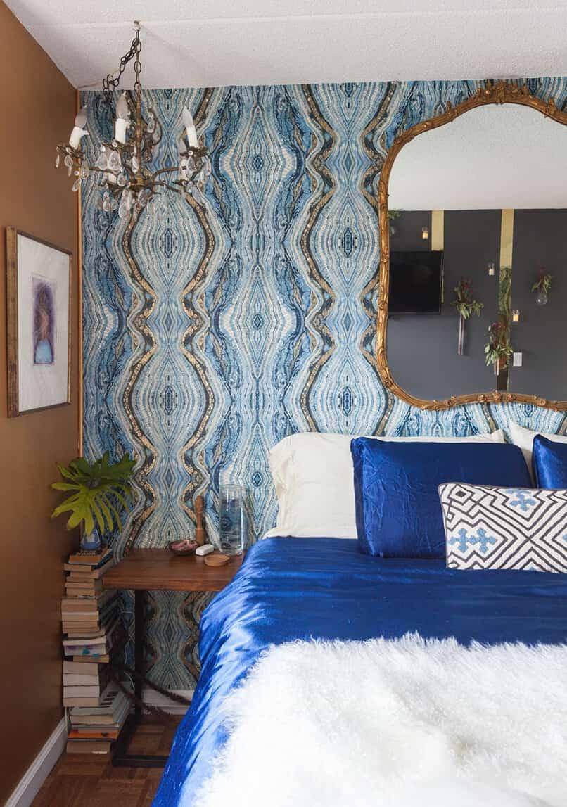 phòng ngủ màu xanh da trời (6)