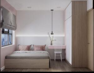 sơn phòng ngủ màu tím hồng (12)