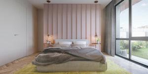 sơn phòng ngủ màu tím hồng (4)