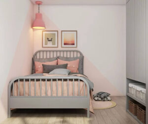 sơn phòng ngủ màu tím hồng (8)