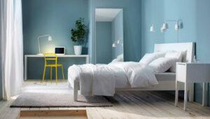 sơn phòng ngủ màu xanh da trời (3)