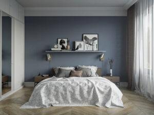 sơn phòng ngủ màu xanh da trời (5)