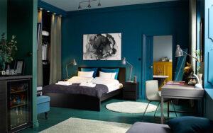 sơn phòng ngủ màu xanh da trời (7)