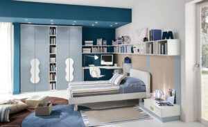 sơn phòng ngủ màu xanh da trời (8)