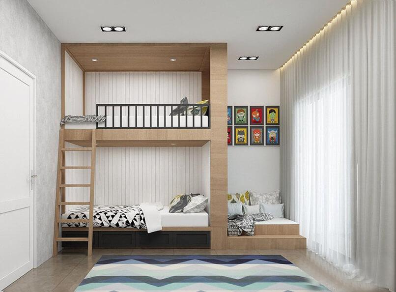 thiết kế giường tầng (15)