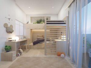 thiết kế giường tầng thông minh (1)