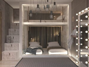thiết kế giường tầng thông minh (10)
