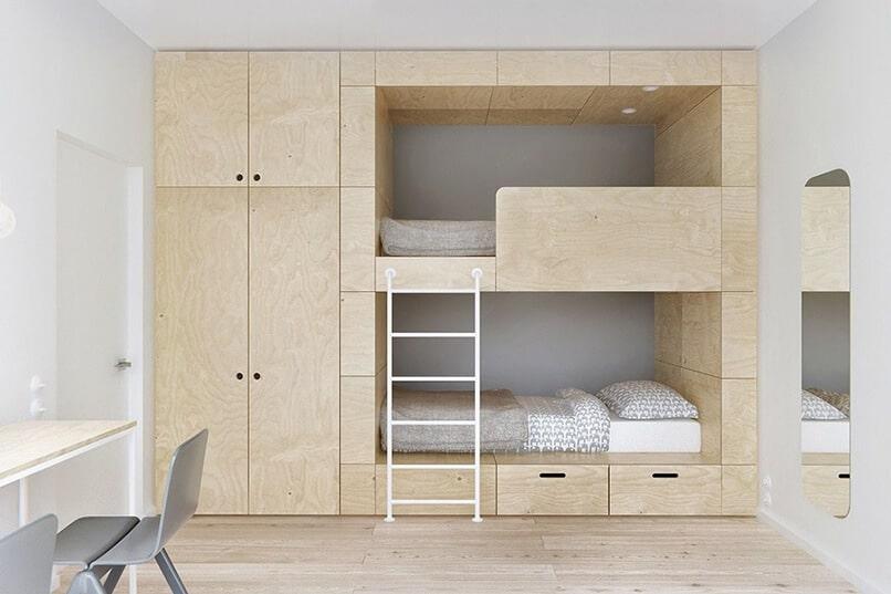 thiết kế giường tầng thông minh (3)