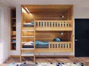 thiết kế giường tầng thông minh (4)