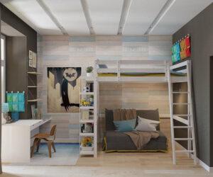 thiết kế giường tầng thông minh (6)