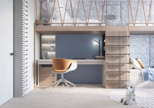 thiết kế giường tầng thông minh (7)