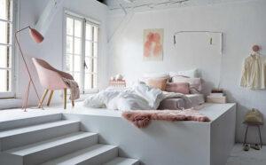 thiết kế phòng ngủ không cần giường (2)