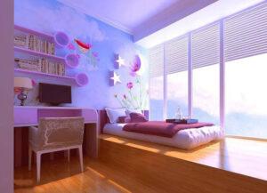 thiết kế phòng ngủ không cần giường (4)